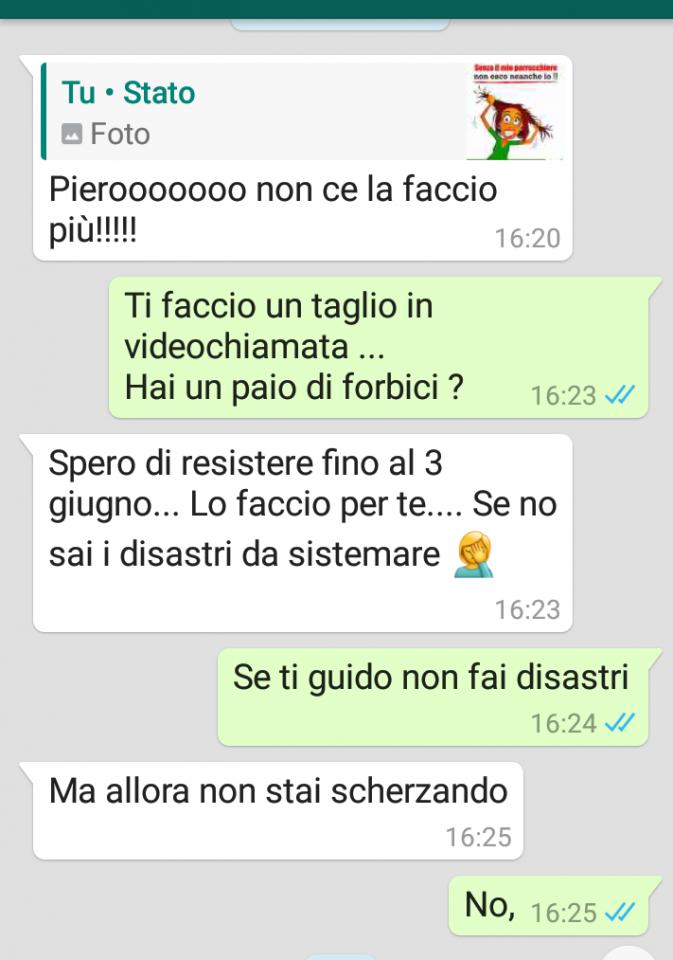 #iostoacasa step9 . #nuovefrontieredellaconciatura